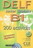 CLE International DELF Junior Scolaire B1 - Livre + CD audio cena od 360 Kč