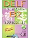 CLE International DELF Junior Scolaire B2 Livre + CD audio cena od 371 Kč