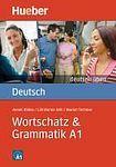 Hueber Verlag deutsch üben Wortschatz a Grammatik A1 cena od 207 Kč
