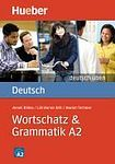 Hueber Verlag deutsch üben Wortschatz a Grammatik A2 cena od 172 Kč