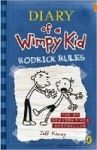 Kinney Jeff: Rodrick Rules (Diary of a Wimpy Kid #2) cena od 126 Kč