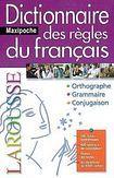 LAROUSSE Dictionnaire des regles du français cena od 372 Kč