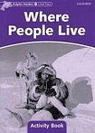 Oxford University Press Dolphin Readers Level 4 Where People Live Activity Book cena od 48 Kč