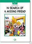 ELI READERS In Search of a Missing Friend + CD cena od 143 Kč