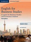 Cambridge University Press English for Business Studies 3rd Edition Student´s Book cena od 586 Kč