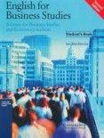 Cambridge University Press English for Business Studies Student´s Book cena od 885 Kč