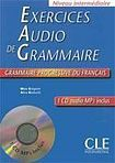 CLE International Exercices audio de grammaire– CD audio MP3 - Livre + CD audio cena od 460 Kč