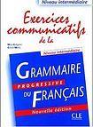 CLE International EXERCICES COMMUNICATIFS DE LA GRAMMAIRE PROGRESSIVE DU FRANCAIS: NIVEAU INTERMEDIAIRE - EXERCICES cena od 350 Kč
