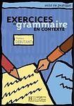 Hachette EXERCICES DE GRAMMAIRE EN CONTEXTE DEBUTANT cena od 288 Kč