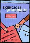 Hachette EXERCICES DE GRAMMAIRE EN CONTEXTE INTERMEDIAIRE cena od 285 Kč