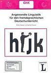 Langenscheidt FERNSTUDIENHEIT 16: Angewandte Linguistik für den fremdsprachlichen Deutschunterricht cena od 184 Kč