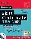 Cambridge University Press First Certificate Trainer Practice Tests with Answers with Audio CDs (3) cena od 431 Kč