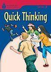Heinle FOUNDATION READERS 3.4 - QUICK THINKING cena od 133 Kč