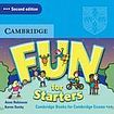 Cambridge University Press Fun for Starters (2nd Edition) Audio CD cena od 319 Kč