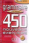 CLE International Grammaire 450 nouveaux exercices exercices niveau débutant + corrigés cena od 258 Kč
