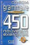 CLE International Grammaire 450 nouveaux exercices exercices niveau intermédiaire - corrigés cena od 271 Kč