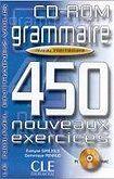 CLE International GRAMMAIRE 450 NOVEAUX EXERCICES: NIVEAU INTERMEDIAIRE CD-ROM cena od 377 Kč