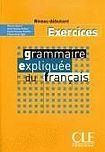 CLE International Grammaire expliquée niveau débutant(A1) - exercices cena od 236 Kč