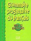 CLE International GRAMMAIRE PROGRESSIVE DU FRANCAIS POUR LES ADOLESCENTS: NIVEAU DEBUTANT cena od 338 Kč