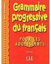 CLE International GRAMMAIRE PROGRESSIVE DU FRANCAIS POUR LES ADOLESCENTS: NIVEAU INTERMEDIAIRE cena od 318 Kč