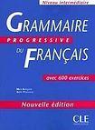 CLE International GRAMMAIRE PROGRESSIVE DU FRANCAIS: NIVEAU INTERMEDIAIRE cena od 512 Kč