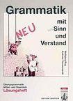 Klett nakladatelství Grammatik mit Sinn und Verstand neu. Lösungsheft cena od 155 Kč