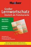 Hueber Verlag Großer Lernwortschatz DaF Deutsch-Englisch cena od 590 Kč