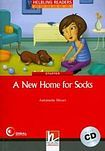 Helbling Languages HELBLING READERS Red Series Level 1 A new Home for Socks + Audio CD (Antoinette Moses) cena od 138 Kč