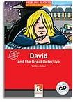 Helbling Languages HELBLING READERS Red Series Level 1 David and the Great Detective + Audio CD (Martyn Hobbs) cena od 140 Kč