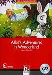 Helbling Languages HELBLING READERS Red Series Level 2 Alice´s Adventures in Wonderland + Audio CD (Lewis Carroll) cena od 166 Kč