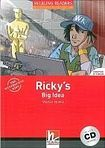 Helbling Languages HELBLING READERS Red Series Level 2 Ricky´s Big Idea + Audio CD ( Martyn Hobbs) cena od 166 Kč