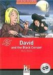 Helbling Languages HELBLING READERS Red Series Level 3 David and the Black Corsair + Audio CD ( Martyn Hobbs) cena od 164 Kč
