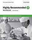 Oxford University Press Highly Recommended 2 (Intermediate) Workbook cena od 244 Kč