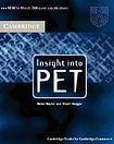 Cambridge University Press Insight into PET Student´s Book cena od 536 Kč