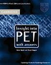 Cambridge University Press Insight into PET Student´s Book with Answers cena od 559 Kč