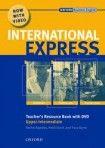 Oxford University Press International Express Interactive Upper-Intermediate Teacher´s Resource Book and DVD Pack cena od 603 Kč