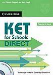 Cambridge University Press KET for Schools Direct Teacher´s Book with Class Audio CD cena od 624 Kč