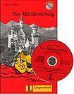 Langenscheidt Leichte Lektüre Stufe 1 Der Märchenkönig Buch mit Mini CD cena od 123 Kč