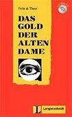 Langenscheidt Leichte Lektüre Stufe 2 Das Gold der alten Dame Buch mit Mini CD cena od 123 Kč