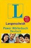 Langenscheidt Power Wörterbuch Deutsch cena od 383 Kč