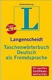 Langenscheidt Taschenwörterbuch DaF cena od 341 Kč