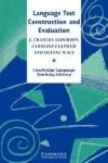 Cambridge University Press Language Test Construction and Evaluation PB cena od 1096 Kč