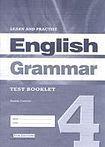 LEARN a PRACTISE ENGLISH GRAMMAR 4 TEST BOOKLET cena od 0 Kč