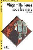 CLE International LECTURES CLE EN FRANCAIS FACILE NIVEAU 1: 20,000 LIEUES SOUS LES MERS cena od 59 Kč