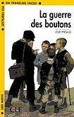 CLE International LECTURES CLE EN FRANCAIS FACILE NIVEAU 1: LA GUERRE DES BOUTONS cena od 59 Kč