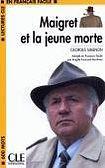 CLE International LECTURES CLE EN FRANCAIS FACILE NIVEAU 1: MAIGRET ET LA JEUNE MORTE cena od 59 Kč