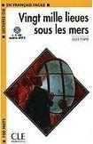 CLE International LECTURES CLE EN FRANCAIS FACILE NIVEAU 1: VING MILLE LIEUES SOUS LES MERS + CD MP3 cena od 125 Kč