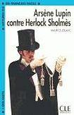 CLE International LECTURES CLE EN FRANCAIS FACILE NIVEAU 2: ARSENE LUPIN CONTRE SHERLOCK cena od 59 Kč