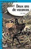 CLE International LECTURES CLE EN FRANCAIS FACILE NIVEAU 2: DEUX ANS DE VACANCES cena od 63 Kč