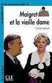 CLE International LECTURES CLE EN FRANCAIS FACILE NIVEAU 2: MAIGRET ET LA VIEILLE DAME cena od 75 Kč